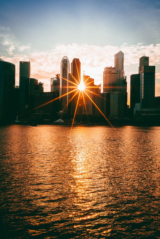 Blue Hour Singapore